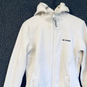 (M) Columbia Hooded Fleece
